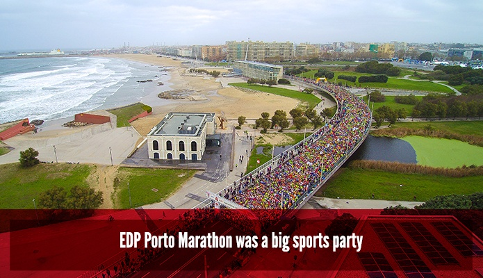 EDP Porto Marathon was a big sports party